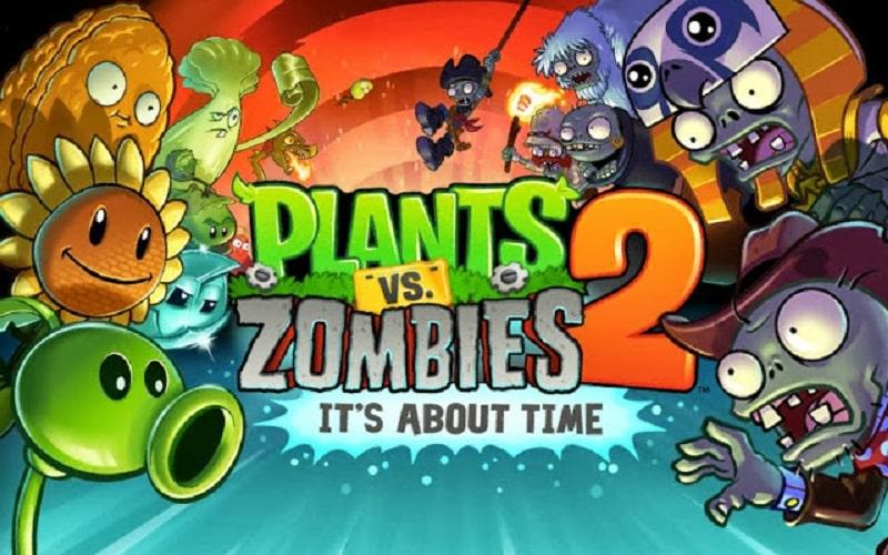 Plant vs Zombie 2 MOD APK (Vô Hạn Tiền)