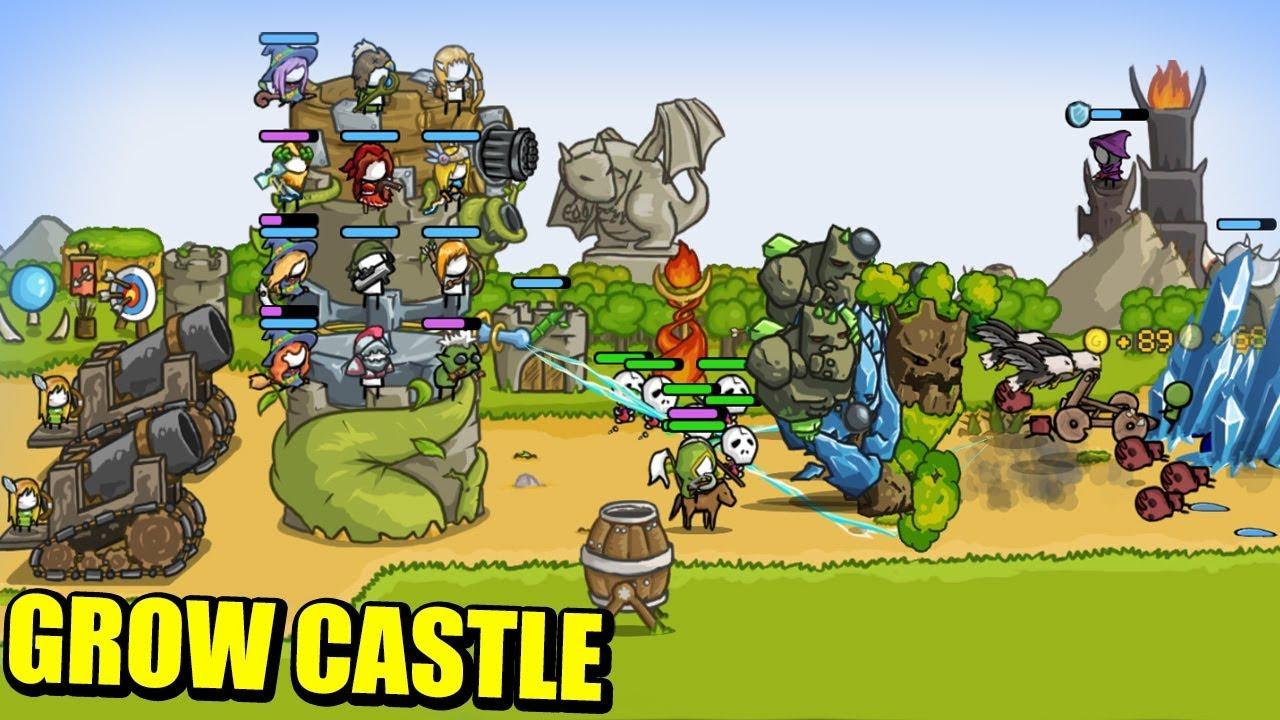 Tải Grow Castle MOD APK (Vô Hạn Tiền)