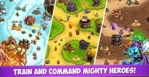 kingdom rush vengeance mod apk android