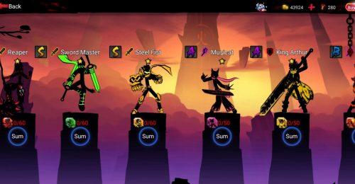 league of stickman mod apk android