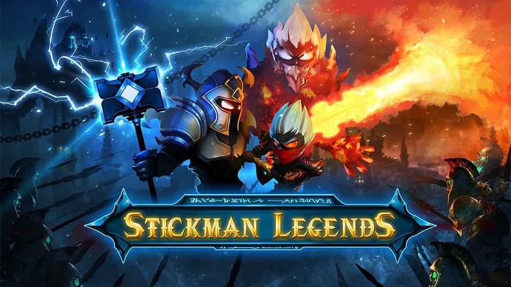 Stickman Legends MOD APK (Vô Hạn Tiền | Mở Khóa Nhân Vật)
